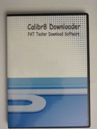Calibr8 Downloader.  Download Software for PAT Testers